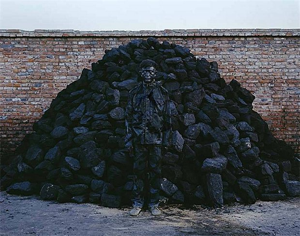 liu bolin-coal