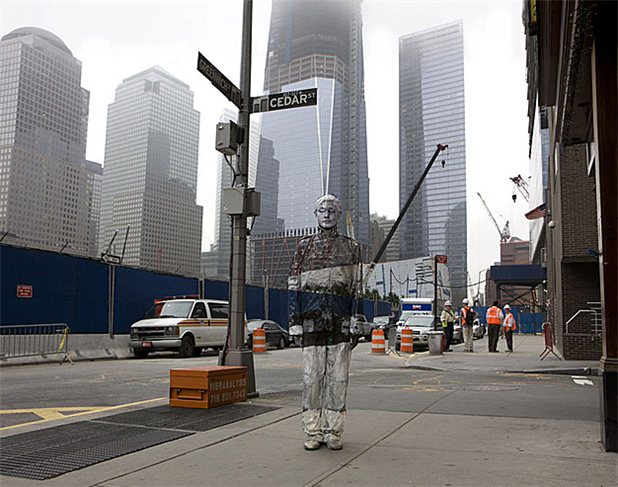 liu bolin-groundzero