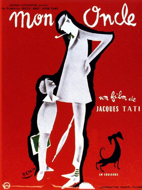 mononcleMon-Oncle-Jacques-Tati-French-filmmaker-actor-screenwriter-cool-dude-Hulot