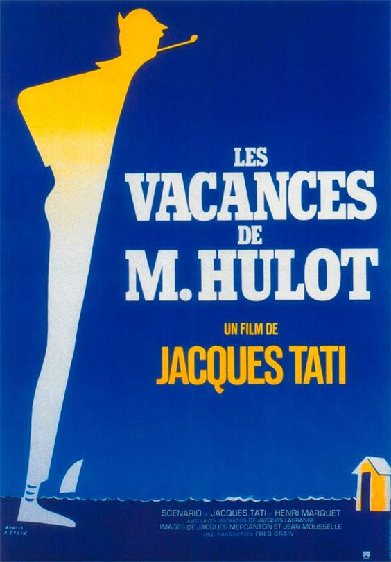 Les Vacanses-Jacques-Tati-French-filmmaker-actor-screenwriter-cool-dude-Hulot